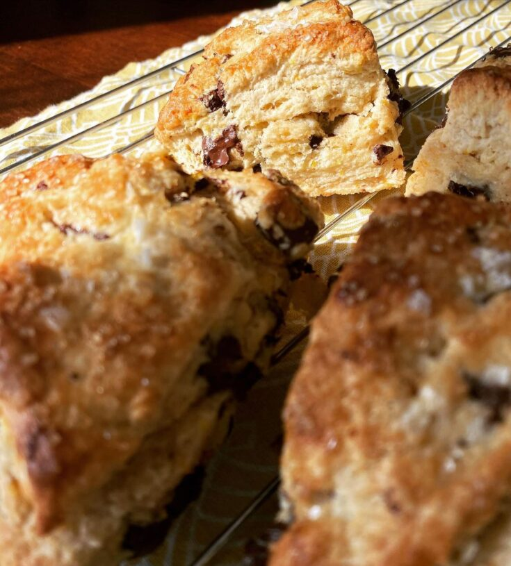 Chocolate & Orange Scones