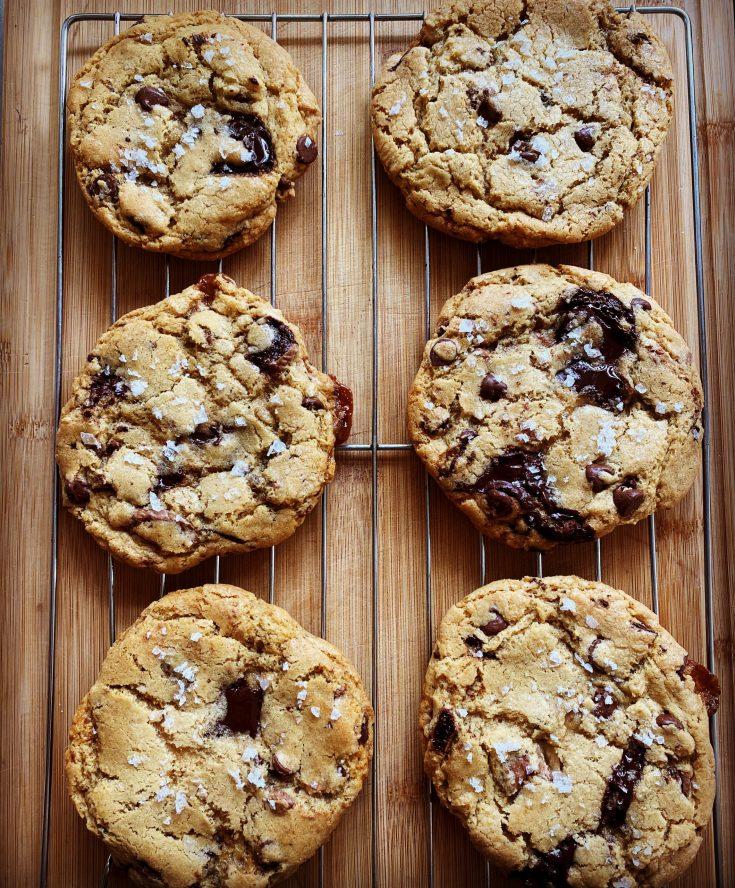 Big Ass Chocolate Chip Cookies